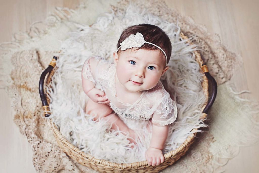 baby photo shoot
