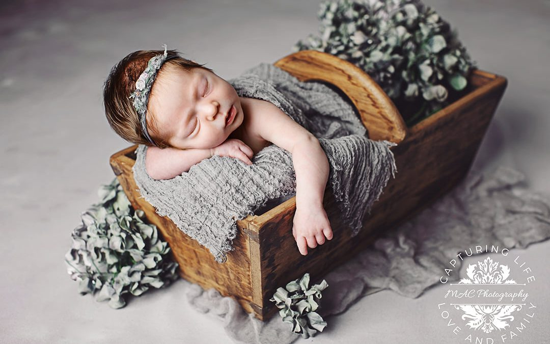 Sleeping Beauty | Newborn Portraits with MAC Photography